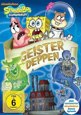 DVD »SpongeBob Schwammkopf - Geisterdeppen«