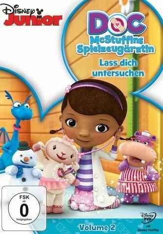DVD »Doc McStuffins - Spielzeugärztin, Volume 2:...«