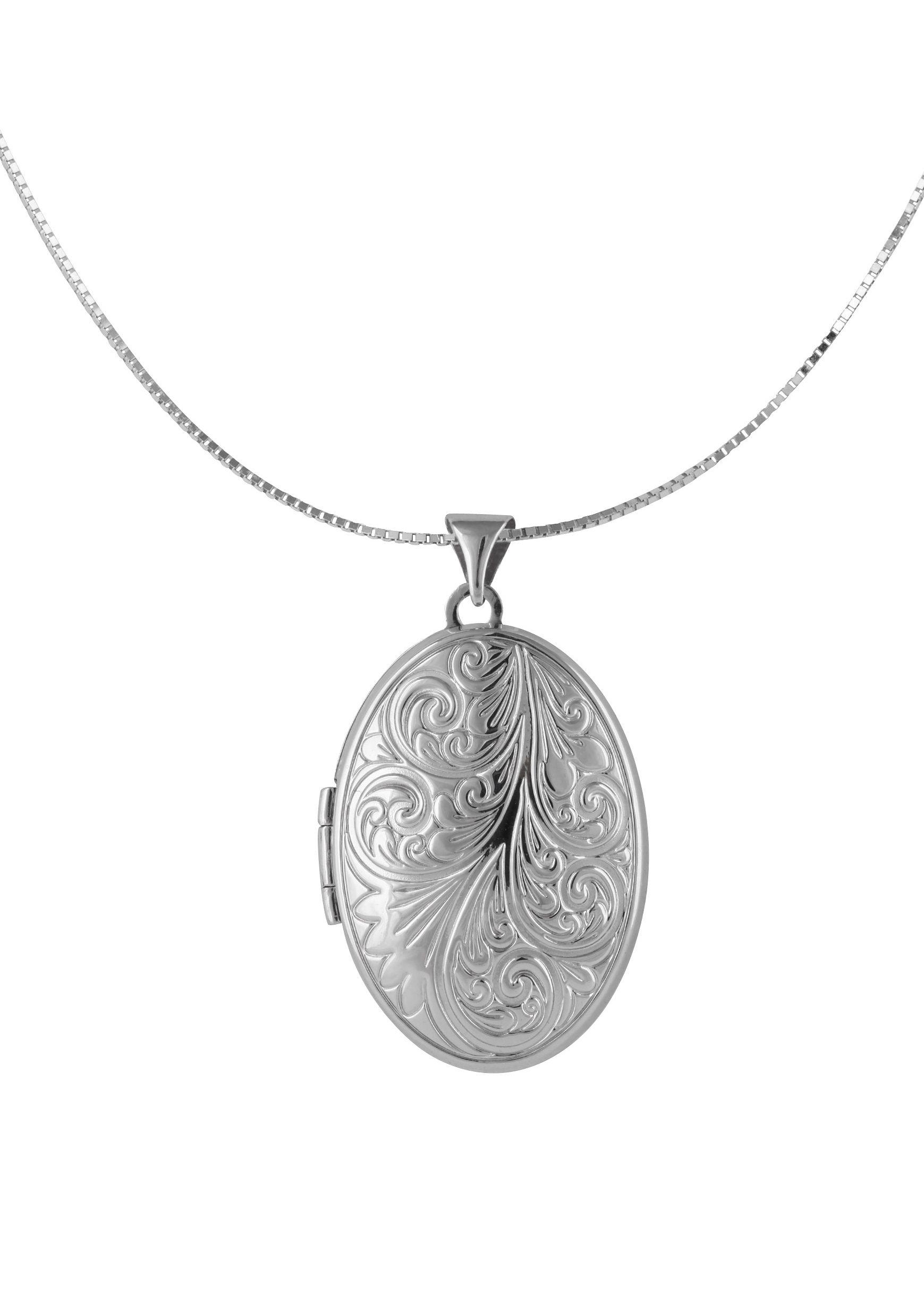 firetti Halsschmuck: Halskette »Medaillon« in Venezianerkettengliederung