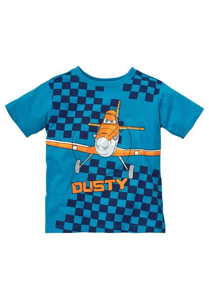 "Disney Planes T-Shirt ""Dusty"" in royalblau"