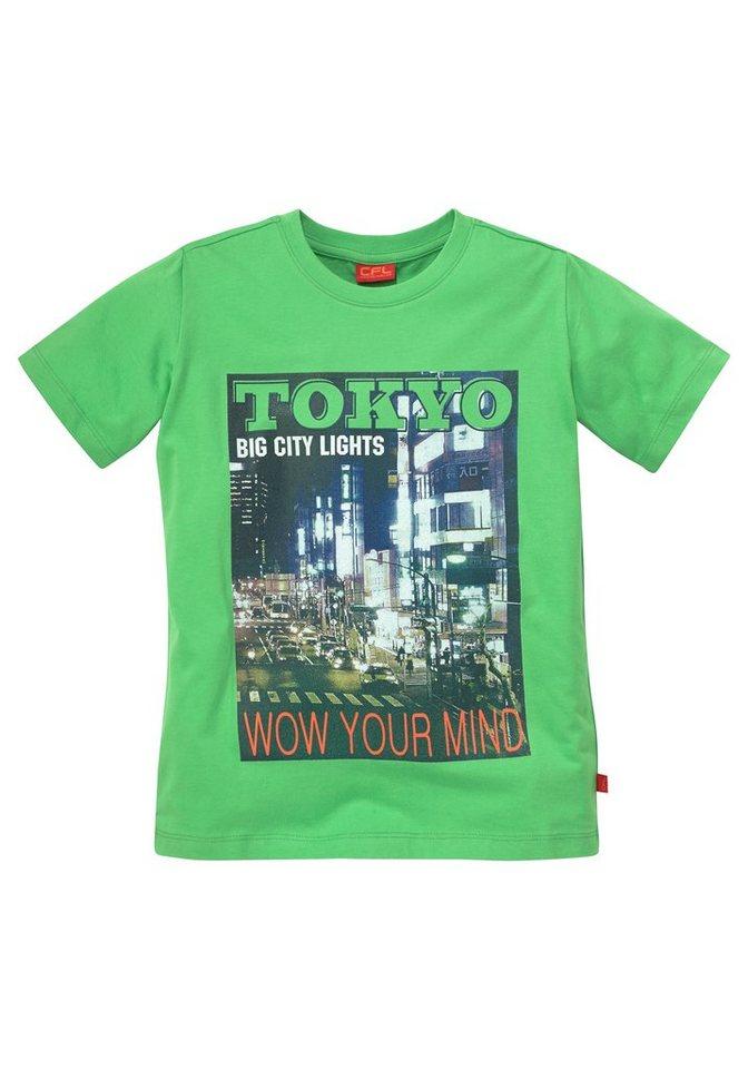 "CFL T-Shirt ""Tokyo"" in grün"
