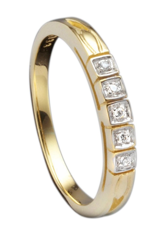 Ring, Gelbgold in Gold 585