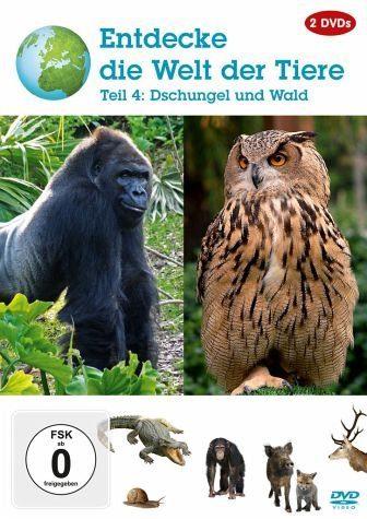 DVD »Entdecke die Welt der Tiere - Vol. 4«