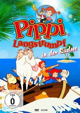 DVD »Pippi Langstrumpf in der Südsee«