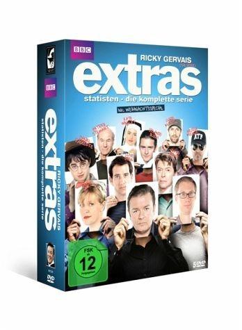 DVD »Extras - Statisten: Die komplette Serie (5 Discs)«