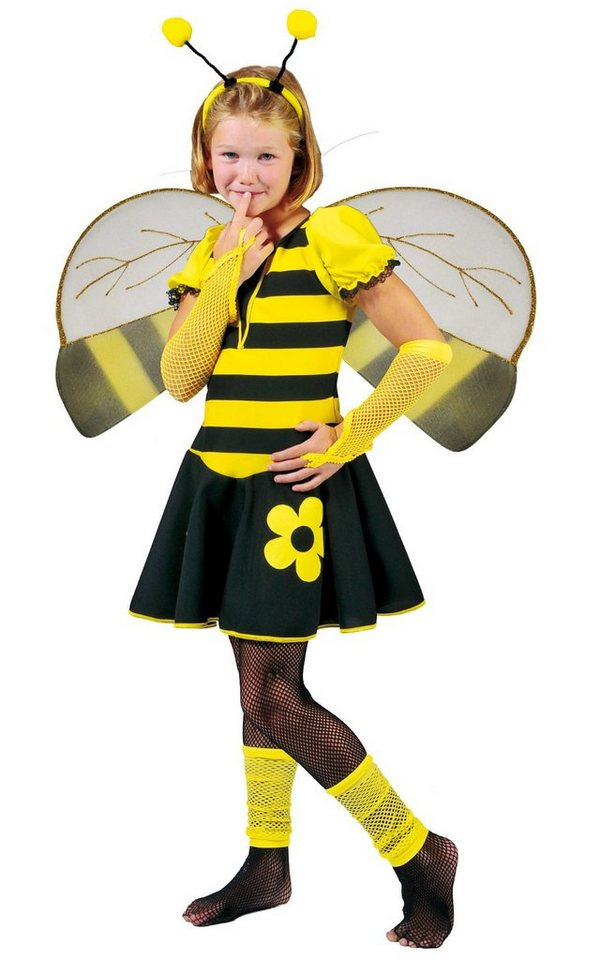 Funny Fashion Kostüm fröhliches Bienchen