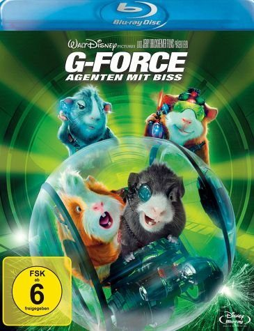 Blu-ray »G-Force - Agenten mit Biss«