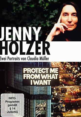 DVD »Jenny Holzer - Zwei Portraits von Claudia...«