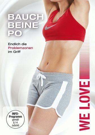 DVD »We Love - Bauch, Beine, Po«