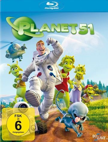 Blu-ray »Planet 51«