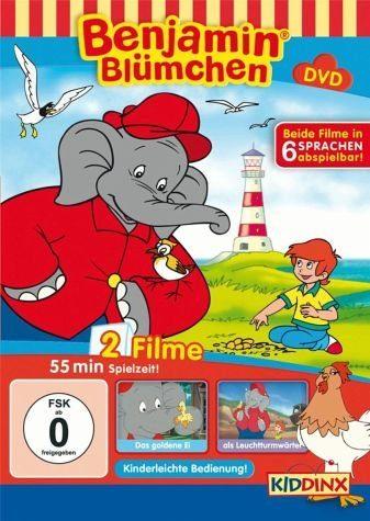 DVD »Benjamin Blümchen - Das goldene Ei / Als...«