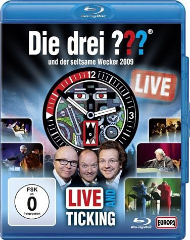 Blu-ray »Der Seltsame Wecker-Live And Ticking 2009«