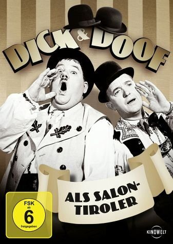 DVD »Dick & Doof - Als Salontiroler«