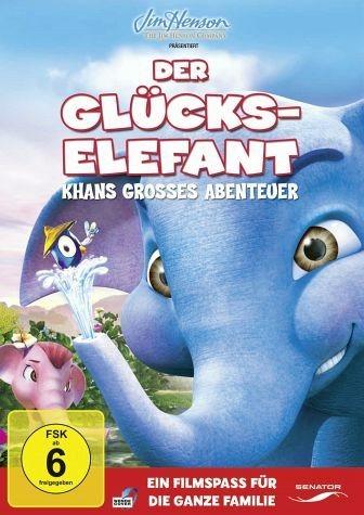 DVD »Der Glückselefant - Khans großes Abenteuer«