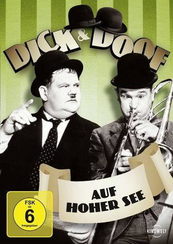 DVD »Dick & Doof - Auf hoher See«