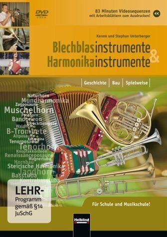 DVD »Blechblasinstrumente und Harmonikainstrumente«