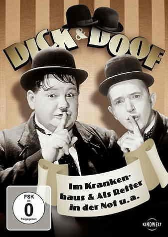DVD »Dick & Doof im Krankenhaus & Als Retter in der...«