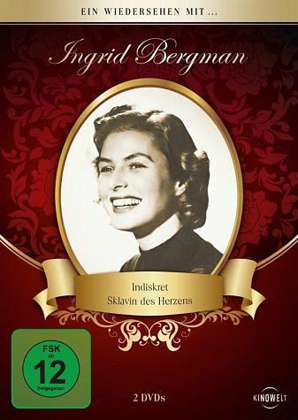 DVD »Ein Wiedersehen mit ... Ingrid Bergman (2 Discs)«