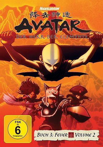 DVD »Avatar - Der Herr der Elemente, Buch 3: Feuer,...«