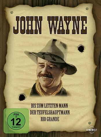 DVD »John Wayne - Western Edition (3 DVDs)«