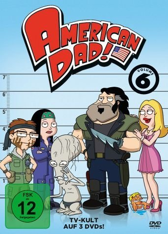 DVD »American Dad - Season 6 (3 Discs)«