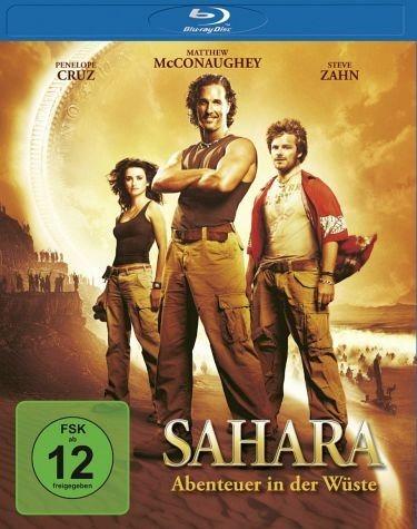 Blu-ray »Sahara - Abenteuer in der Wüste«
