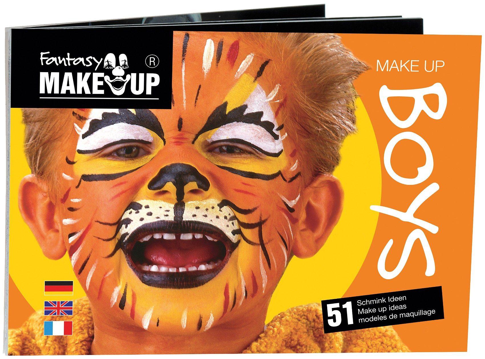C. KREUL Fantasy Schminkbuch für 51 Masken Boys