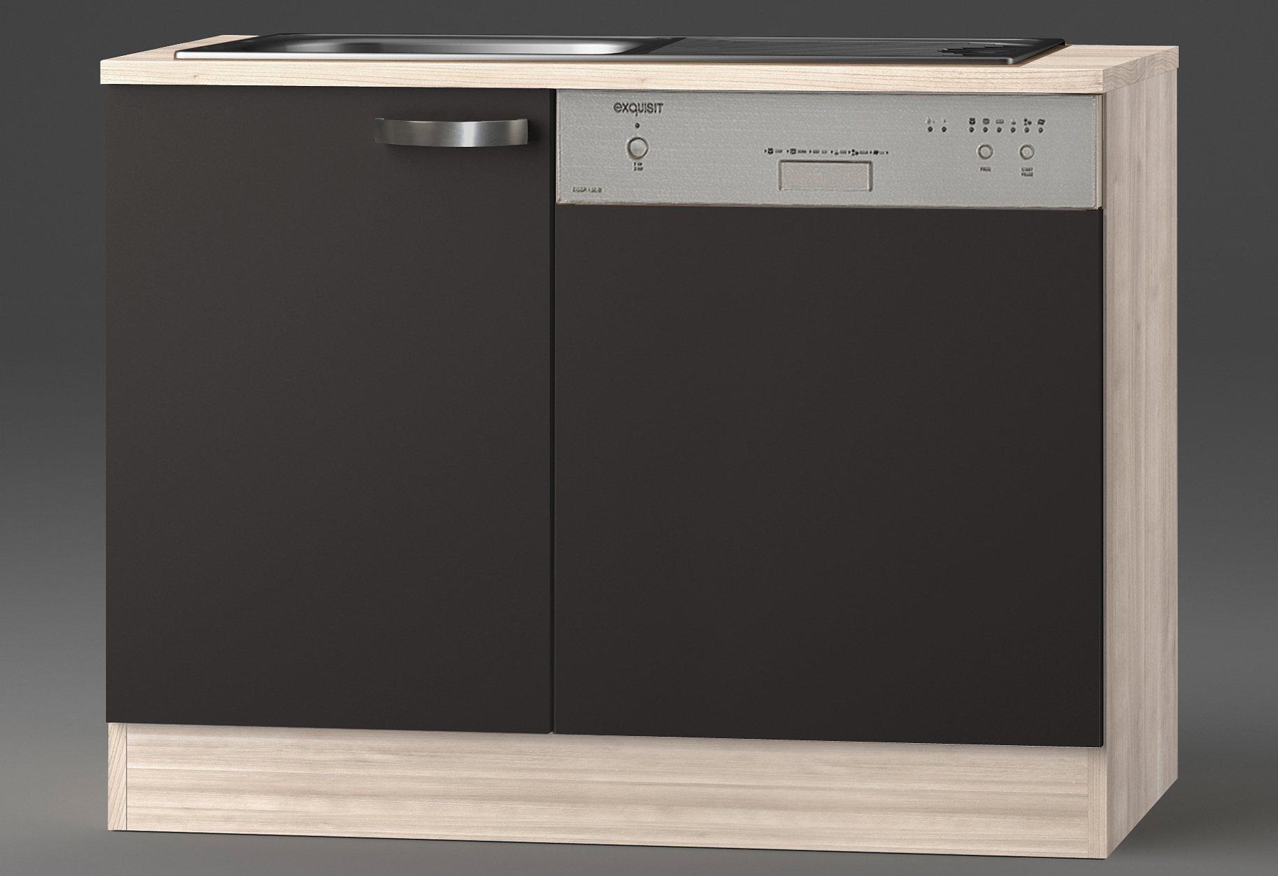 Optifit Spülenschrank »Skagen«, Breite 110 cm | Küche und Esszimmer > Küchenschränke > Spülenschränke | Holzwerkstoff - Metall | OPTIFIT