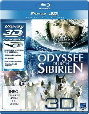 Blu-ray »Odyssee durch Sibirien (Blu-ray 3D)«