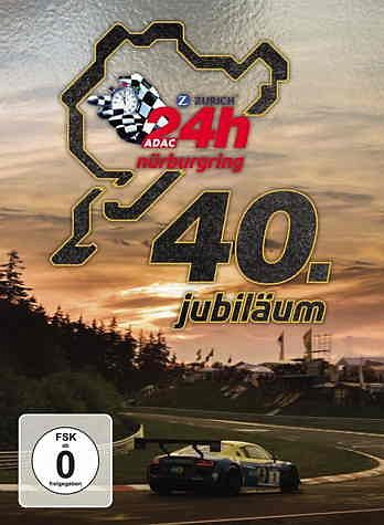 DVD »24h Nürburgring - 40. Jubiläum (2 Discs)«