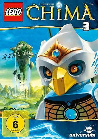 DVD »Lego: Legends of Chima - DVD 3«