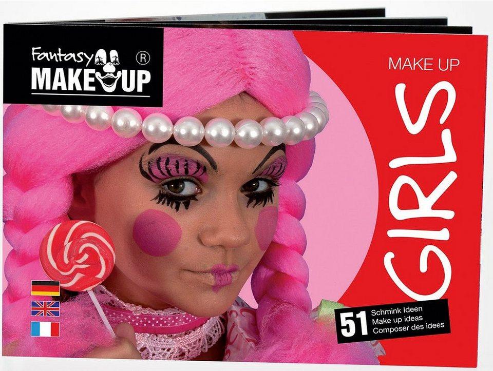 C. KREUL Fantasy Schminkbuch für 51 Masken Girls