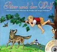 Gebundenes Buch »Peter und der Wolf + CD«