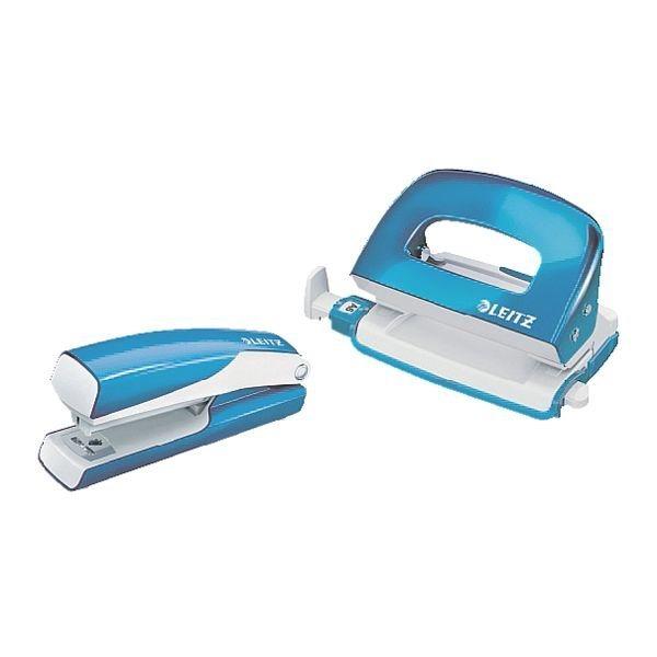 Leitz Büroset »5528 & 5060« WOW Mini in metallicblau