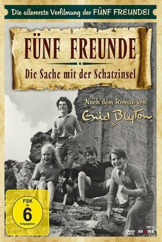 DVD »Fünf Freunde - Die Sache mit der Schatzinsel«