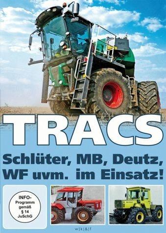 DVD »Tracs - Schlüter, MB, Deutz, WF uvm. im Einsatz«