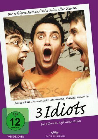 DVD »3 Idiots«