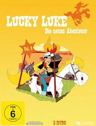 DVD »Lucky Luke - Die neuen Abenteuer, Vol. 4 (3...«