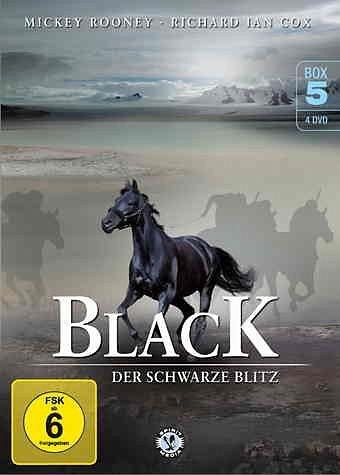 DVD »Black - Der schwarze Blitz DVD 5 (4 Discs)«