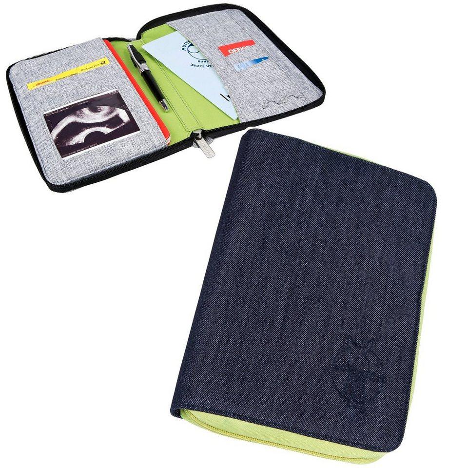 Lässig Mum's Organizer, Document Pouch, Greenlabel, Denim blue in jeansblau