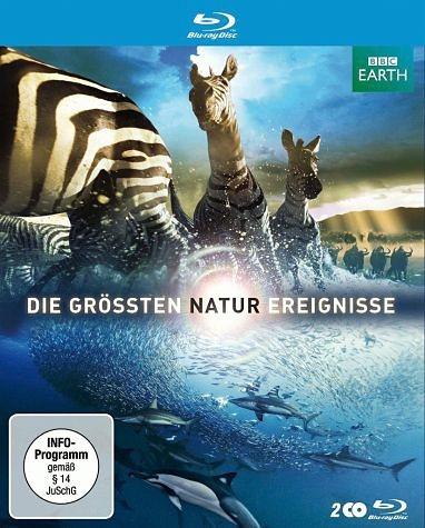 Blu-ray »Die größten Naturereignisse (Uncut, 2 Discs)«