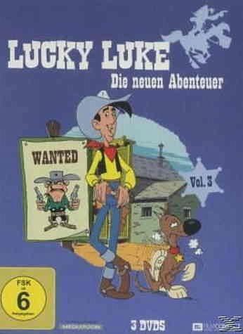 DVD »Lucky Luke - Die neuen Abenteuer, Vol. 3...«