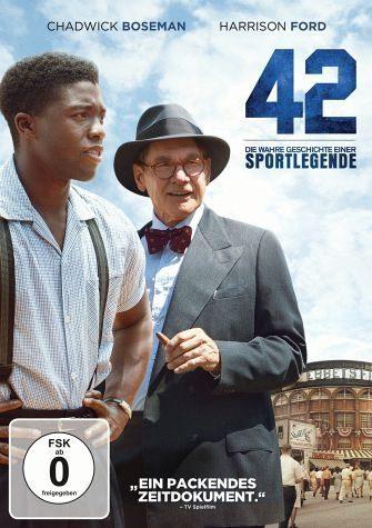 DVD »42 - Die wahre Geschichte einer Sportlegende«