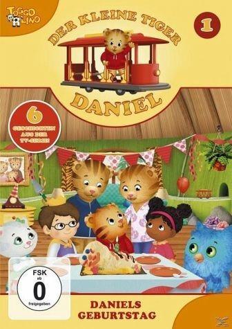 DVD »Der kleine Tiger Daniel - Daniels Geburtstag«