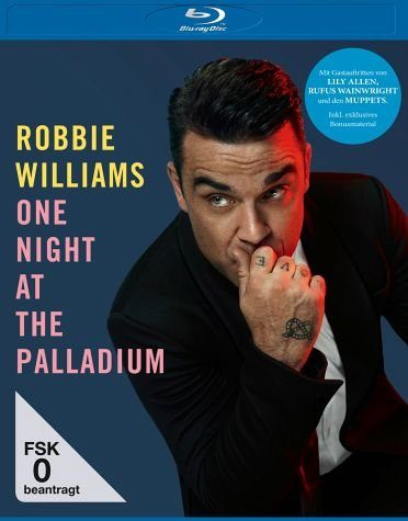 Blu-ray »Robbie Williams - One Night at the Palladium BD«