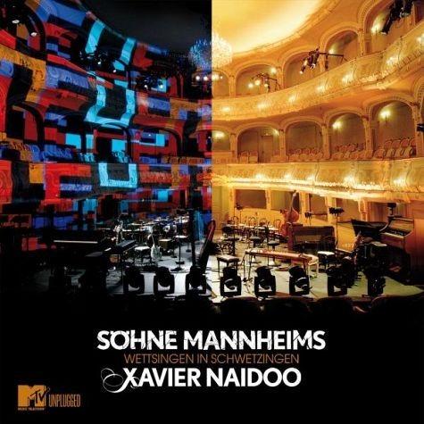 Audio CD »Söhne Mannheims; Xavier Naidoo: Wettsingen in...«