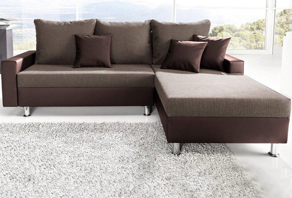 polsterecke sit more mit bettfunktion kaufen otto. Black Bedroom Furniture Sets. Home Design Ideas