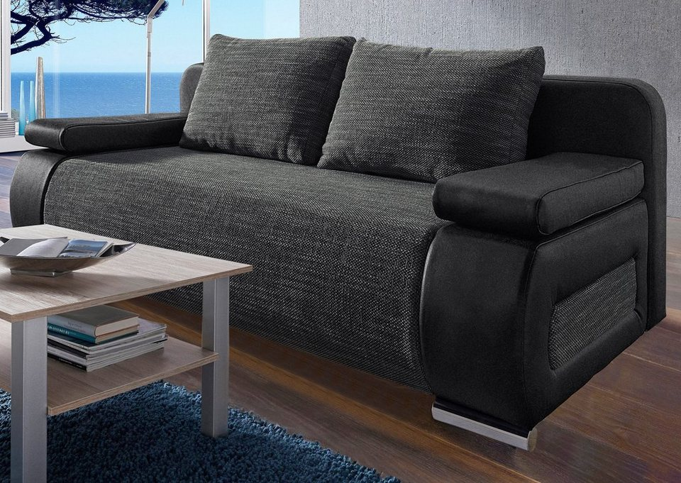 COLLECTION AB Schlafsofa, wahlweise mit LED ...