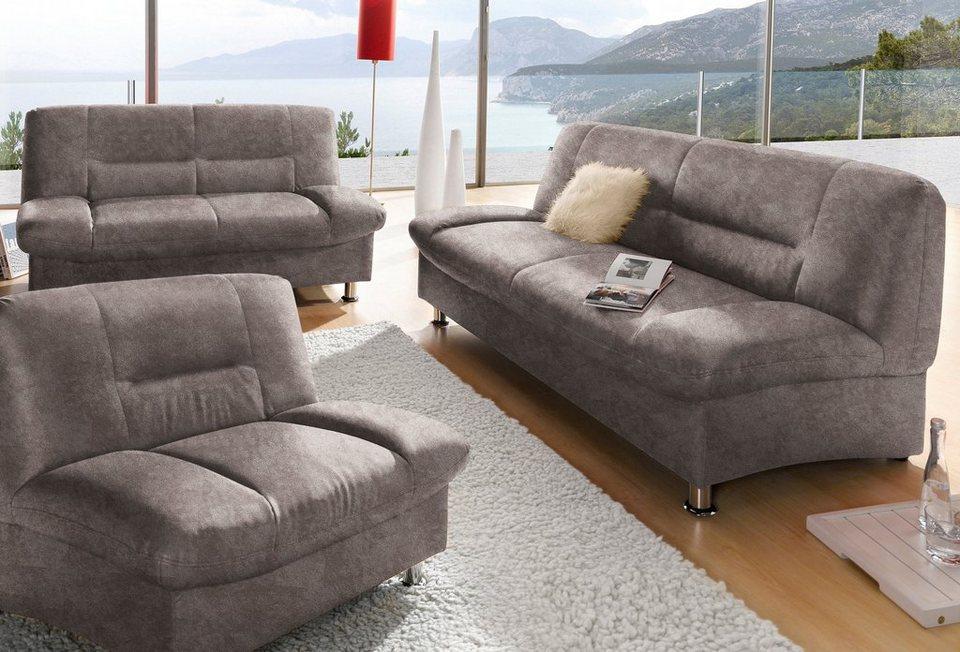 garnitur 2 tlg online kaufen otto. Black Bedroom Furniture Sets. Home Design Ideas
