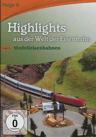 DVD »Highlights aus der Welt der Eisenbahn - Vol. 8«